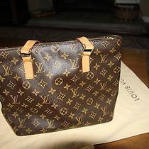 Authentic Louis Vuitton Cabas Piano Shoulder Bag  Photo