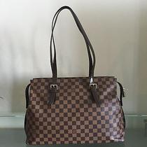 Authentic Louis Vuitton Chelsea Tote Damier Like New Condition Photo