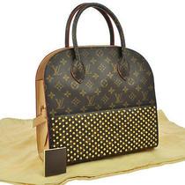 Authentic Louis Vuitton Christian Louboutin Shopping Hand Bag Vintage Nr07964 Photo