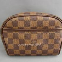 Authentic Louis Vuitton Damier Canvas Ipanema Great Condition Photo
