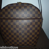 Authentic Louis Vuitton Damier Gm Ipanema Bag Photo