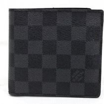 Authentic Louis Vuitton Damier Graphite Wallet