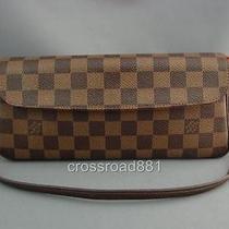 Authentic Louis Vuitton Damier Recoleta Pochette Excellent Photo