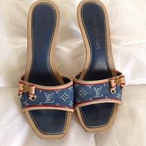 Authentic Louis Vuitton Heels Photo