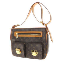 Authentic Louis Vuitton  Hudson Gm M40045 Shoulder Bag Monogram Canvas Photo