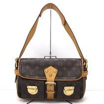 Authentic Louis Vuitton Hudson Pm Shoulder Bag M40027 Photo