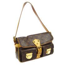 Authentic Louis Vuitton Hudson Pm Shoulder Bag Purse Monogram M40027 A31473 Photo