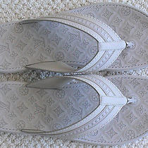 Authentic Louis Vuitton Ipanema Thong Flip Flops - Mastic 110 - New  Photo
