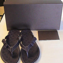 Authentic Louis Vuitton Ipanema Thong Flip Flops - Violet 37 New  Photo