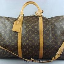 Authentic Louis Vuitton Keepall 60 Garment Bag With Strap Great Condition Photo