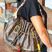 Authentic Louis Vuitton Limited Edition Monogram Kalahari Gm Madonna Handbag Photo