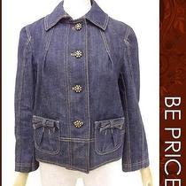 Authentic Louis Vuitton Louis Vuitton Denim Jacket 38 Tn260522from Japan Photo