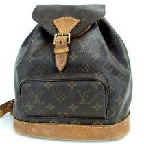 Authentic Louis Vuitton M51136 Monogram Montsouris Mm Sp0957 Backpack a D... Photo
