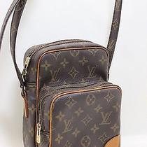 Authentic Louis Vuitton Monogram Amazone Crossbody Bag M45236 France 10406c Photo