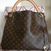 Authentic Louis Vuitton Monogram Artsy Mm Euc Tpf  Photo