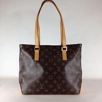 Authentic Louis Vuitton Monogram Cabas Piano M51148 Woman Handbag (14000403) Photo
