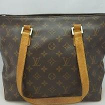 Authentic Louis Vuitton Monogram Cabas Piano Tote Bag Purse From Japan Photo