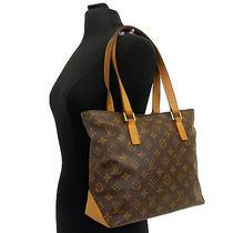 Authentic Louis Vuitton Monogram Cabas Piano Tote Lv Bag Shoulder Retail-1070 Photo