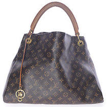 Authentic Louis Vuitton Monogram Canvas Artsy Mm Hobo Shoulder Tote Photo