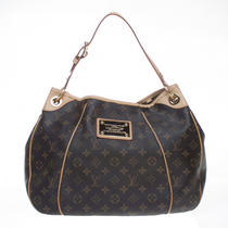 Authentic Louis Vuitton Monogram Canvas Galliera Pm Shoulder Hobo Bag Photo