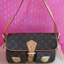 Authentic Louis Vuitton Monogram Canvas Hudson Pm Shoulder Bag Handbag Photo
