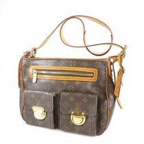Authentic Louis Vuitton Monogram Canvas  Shoulder Bag   Hudson Gm M40045 Photo