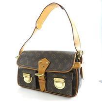 Authentic Louis Vuitton Monogram Canvas  Shoulder Bag   Hudson Pm M40027 Photo