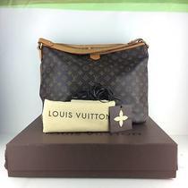 Authentic Louis Vuitton Monogram Delightful Shoulder Tote Bag Photo