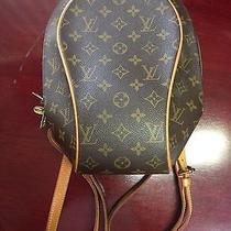 Authentic Louis Vuitton Monogram Ellipse Sac a Dos Backpack Photo