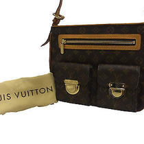 Authentic  Louis Vuitton Monogram Hudson Gm  Shoulder  Bag E-4978 Photo