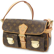 Authentic Louis Vuitton Monogram Hudson Pm Shoulder Bag M40027 Photo