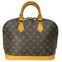Authentic Louis Vuitton Monogram Leather Alma Bag Fabulous Photo