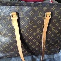 Authentic Louis Vuitton Monogram Luco Shoulder Bag Photo