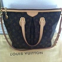 Authentic Louis Vuitton Monogram Palermo Pm  Photo