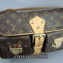 Authentic Louis Vuitton Monogram Shoulder Bag Hudson Pm Fair Photo