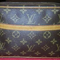 Authentic Louis Vuitton Monogram Toiletry Bag Photo