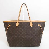 Authentic Louis Vuitton Monogram Tote Bag Shopping Bag Neverfull Gm 2771 Photo
