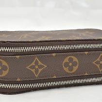 Authentic Louis Vuitton Monogram Trousse Blush Pm Cosmetic Pouch M47510 Lv 21472 Photo