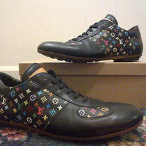 Authentic Louis Vuitton Multicolore Monogram Sneakers Don Jasper Damier Hudson Photo