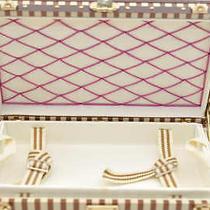 Authentic  Louis Vuitton Novelty Trunk Jewelry Case Jewelry Box U361 Photo