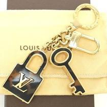 Authentic Louis Vuitton Porte-Cles Confidence Key Ring Bag Charm W/box Dust Bag Photo