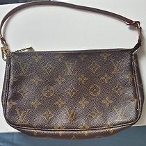 Authentic Louis Vuitton Pouch Photo