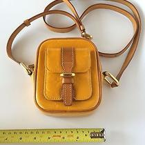 Authentic Louis Vuitton Rare Christie Yellow Vernis Photo