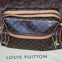 Authentic Louis Vuitton Sac Squash Monogram Bag Photo