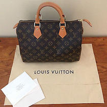 Authentic Louis Vuitton Speedy 30 Photo