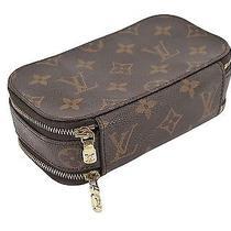 Authentic Louis Vuitton Trousse Blush Pm Cosmetics Pouch Bag 20983 Photo