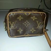 Authentic Louis Vuitton Truth Wapiti Monogram Accessories Camera/credit  Photo