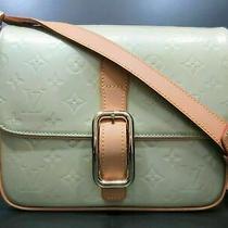 Authentic Louis Vuitton Vernis Christie Gm M91148 Shoulder Bag Good 85463 Photo