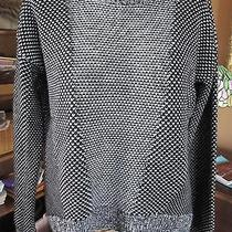 Authentic Lulu Lemon Yogi Crew Sweater Size 8  Black Merino Wool Msrp 118 Black  Photo