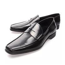 Authentic Luxury Prada  Shoes 2de063 Black New Uk 10.5 Photo